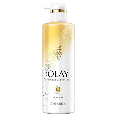 Olay Cleansing & Nourishing Body Wash with Vitamin B3 and Vitamin C - 17.9 fl oz - image 1 of 4