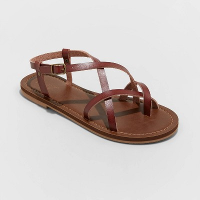 Women's Anamaria Toe Loop Strappy Sandals - Universal Thread™
