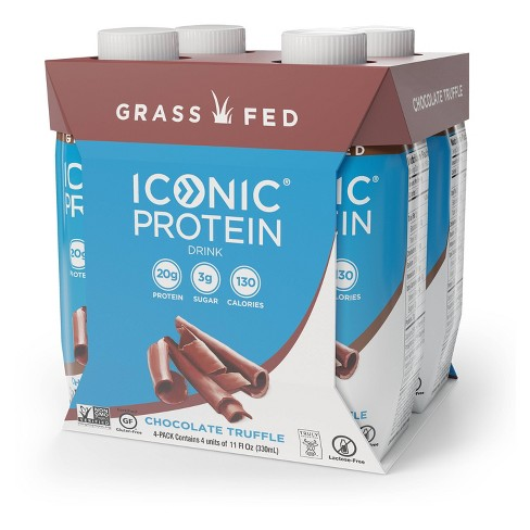 ICONIC Protein Drink - Chocolate Truffle - 11 fl oz/4pk - image 1 of 2