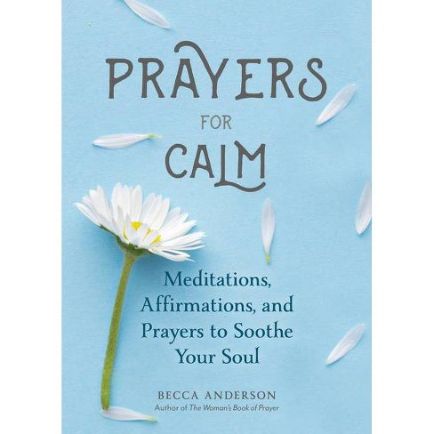 Prayers for Calm - by  Becca Anderson (Paperback) - image 1 of 1