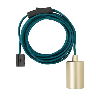 Globe Electric 6999 Novogratz Single Light Plug In Exposed Socket Pendant by In Exposed Socket Pendant