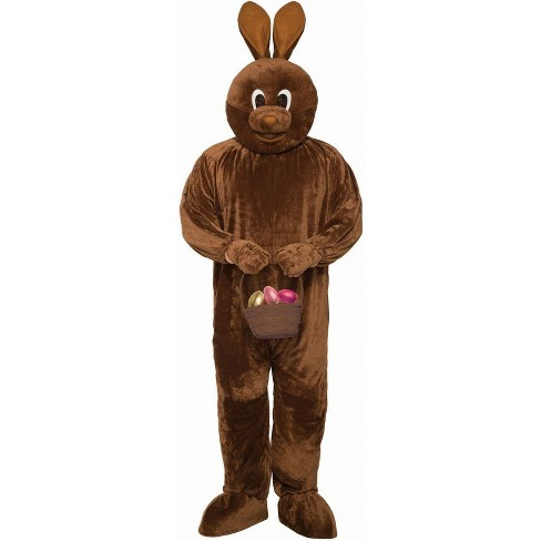 Adult Chocolate Easter Bunny Costume M - image 1 of 1