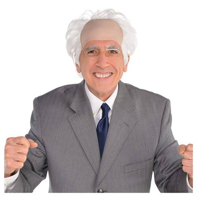 Old Man Halloween Costume Wig
