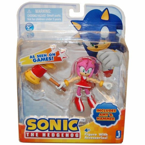 Zoofy International Sonic 3 Action Figure With Accessories Set Amy Hammer Target
