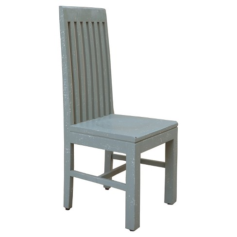 Mango Wood Dining Chair - Distressed Gray Green (Set of 2) - Christopher Knight Home - image 1 of 3
