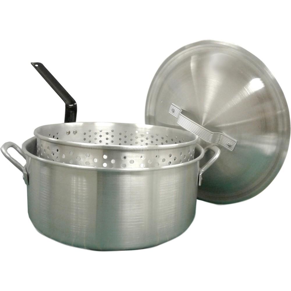 Bayou Classic 14 Qt Boiler/Fryer - Silver