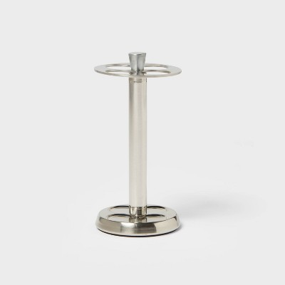 Brushed Stainless Steel Toothbrush Holder - Threshold™
