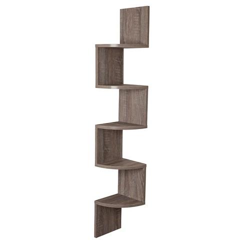 48 5 X 7 7 Zigzag Corner Shelf Danya B Target