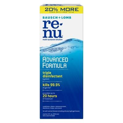 Contact Lens Solution: Renu Advanced Formula