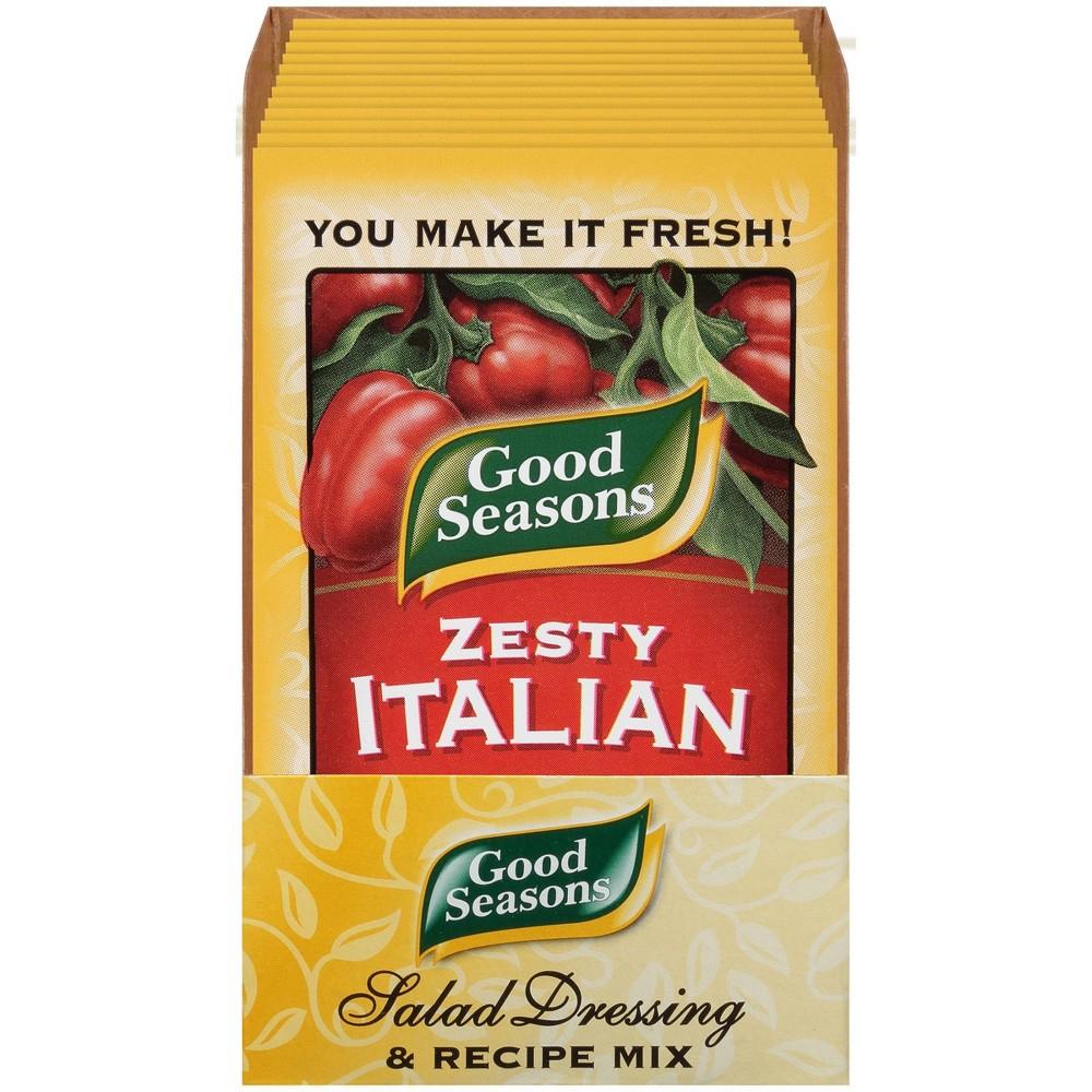 Good Seasons Zesty Italian Dressing And Recipe Mix 6oz