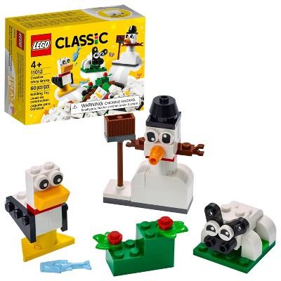 LEGO Classic Creative White Bricks Building Toy 11012