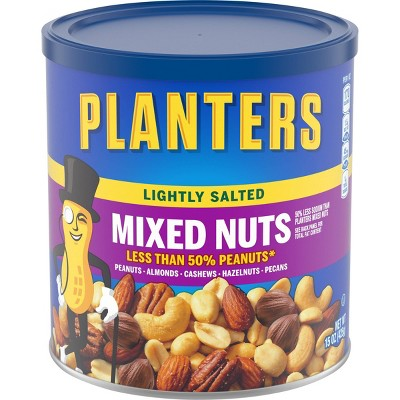 Planters Lightly Salted Mixed Nuts - 15oz