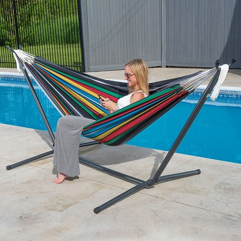 Vivere 9ft Double Rio Night Hammock With Stand Target