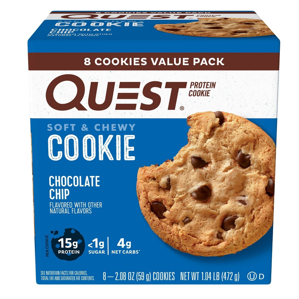 Quest Nutrition Chocolate Chip Cookie 8ct