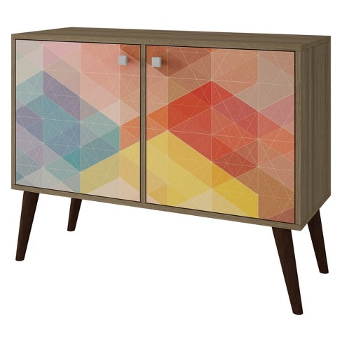 Avesta 2.0 Double Side Table - Manhattan Comfort - image 1 of 3