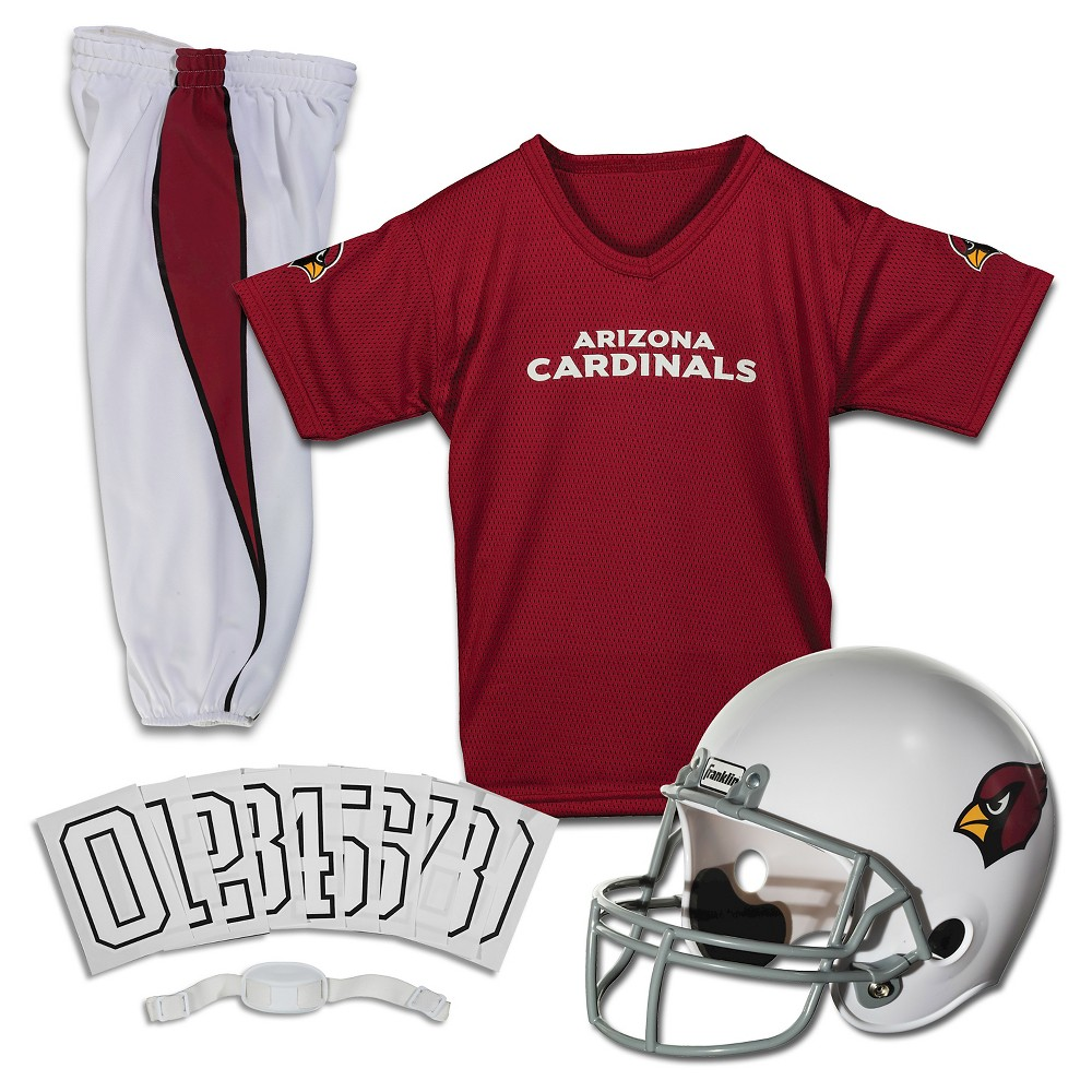 Franklin Sports NFL Arizona Cardinals Deluxe Uniform Set, Size: Medium
