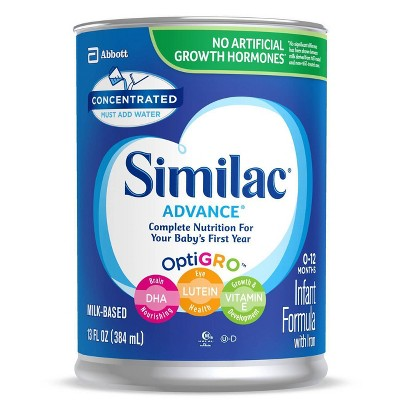 Similac Advance Concentrate with Iron - 13 fl oz