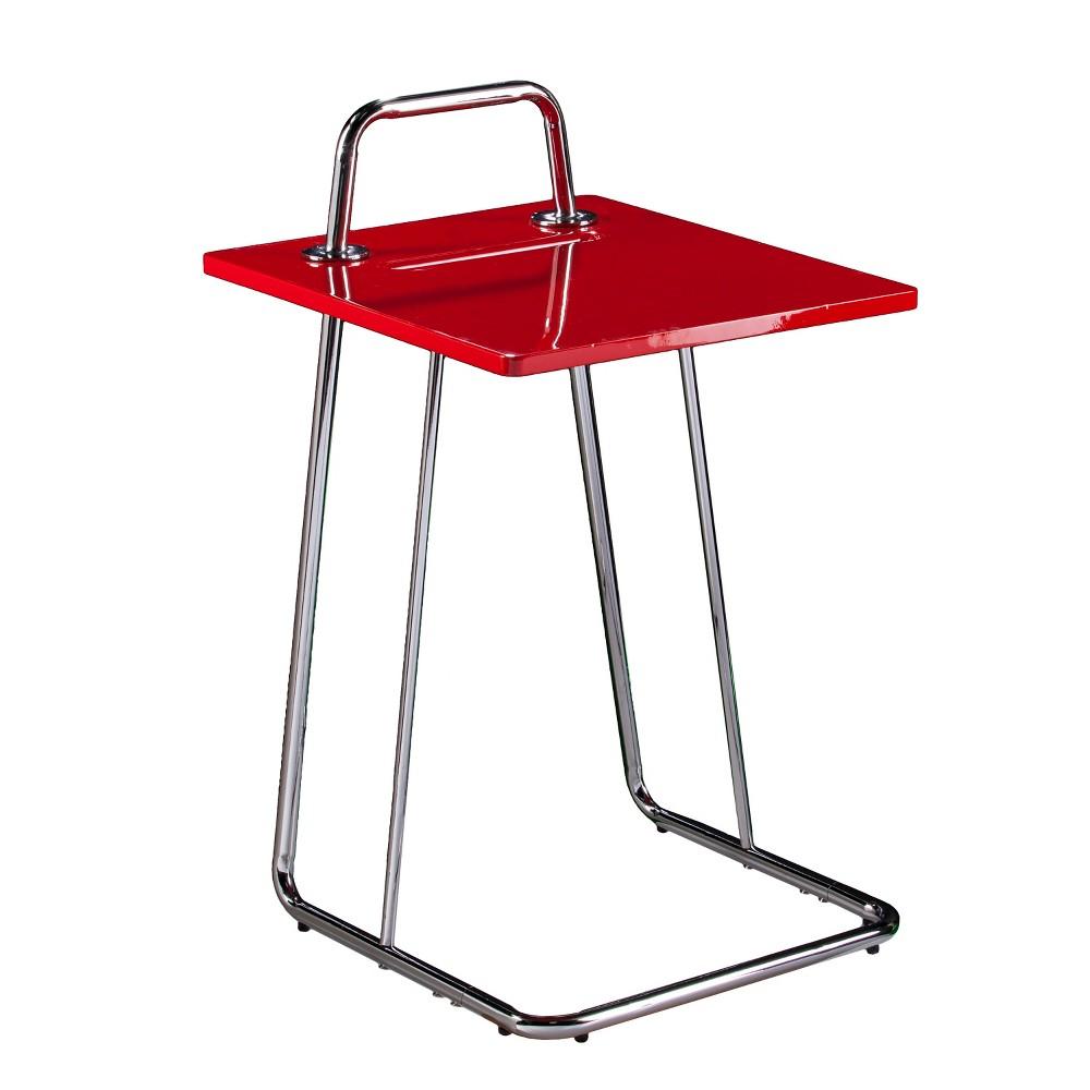 Hengill C Table/Laptop Desk Red - Aiden Lane