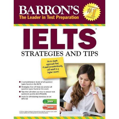 Ielts Strategies and Tips with MP3 CD - (Barron's Test Prep) 2nd Edition by  Lin Lougheed (Paperback)