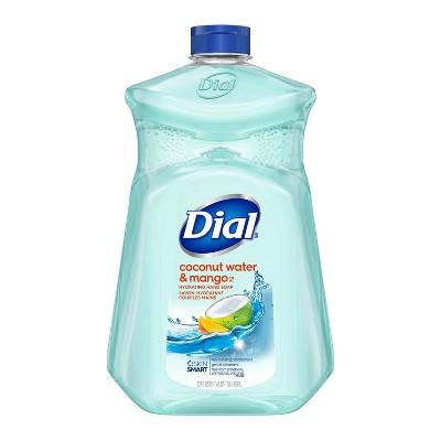 Dial Liquid Hand Soap Refill - Coconut Water & Mango - 52 fl oz