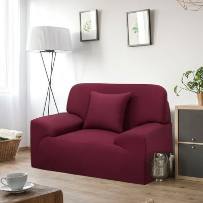 1 Pc 1-4Seaters Polyester Stretch Chair Sofa Slipcovers - PiccoCasa