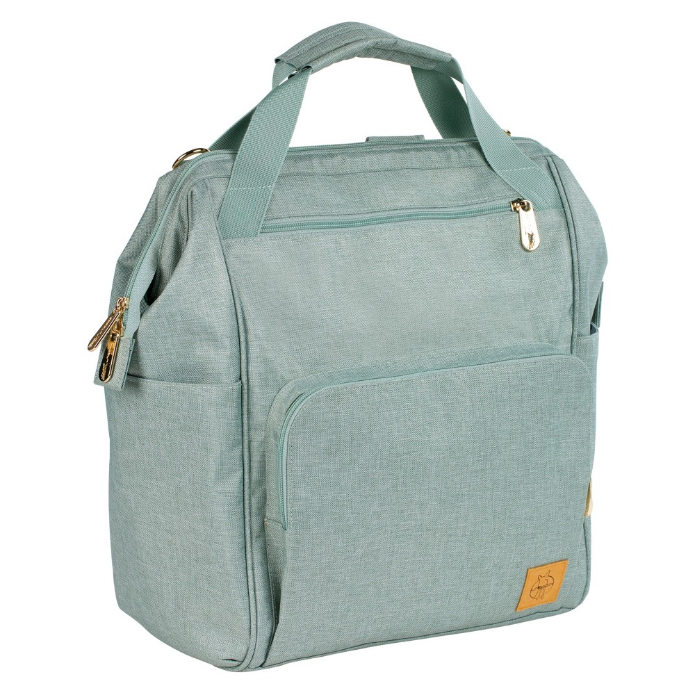 Lassig Glam Goldie Backpack Diaper Bag - Mint (Green)