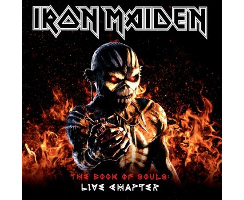 Iron Maiden - Book Of Souls:Live Chapter 16/17 (CD) - image 1 of 1