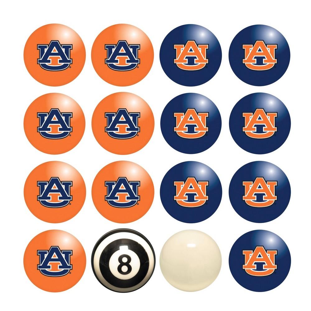 NCAA Imperial Home vs. Away Billiard Ball Set Auburn Tigers