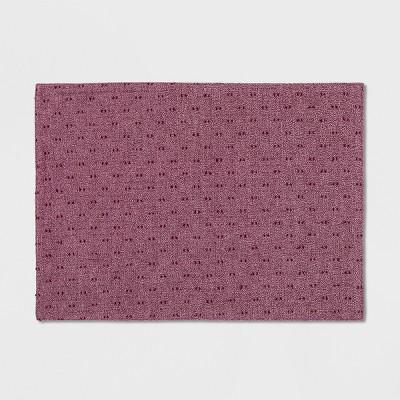19 x14  Swiss Dot Placemat Purple - Opalhouse™