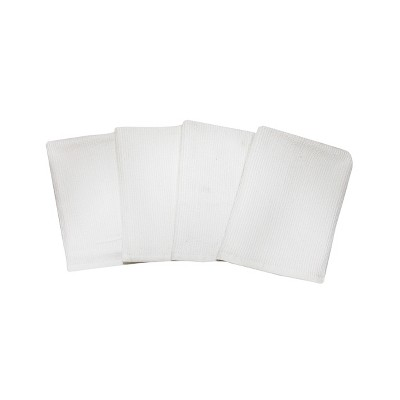 4pk Cotton Barmops White - Made By Design™