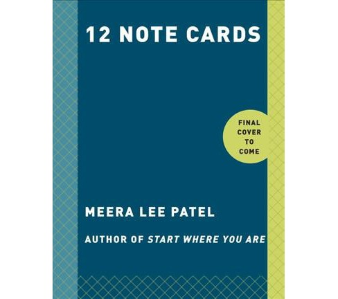 Start Where You Are Note Cards (Stationery) (Meera L. Patel) - image 1 of 1