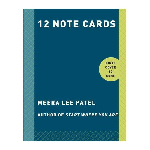 start where you are note cards