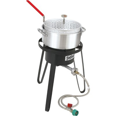 Bayou Classic Sportsman's Choice Fish Boiler/Fryer - Silver