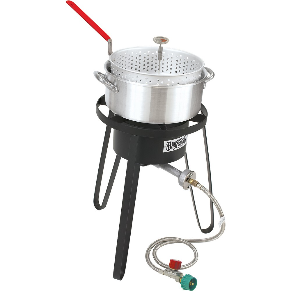 Bayou Classic Sportsman's Choice Fish Boiler/Fryer – Silver 14736927