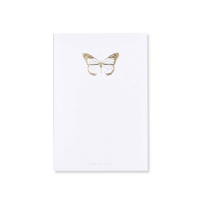 Special Lined Butterfly Composition Notebook White - West Emory