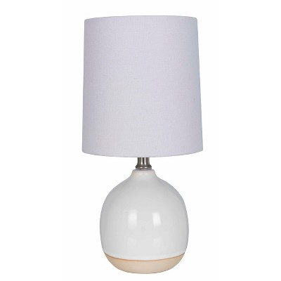 Round Ceramic Table Lamp White - Threshold™