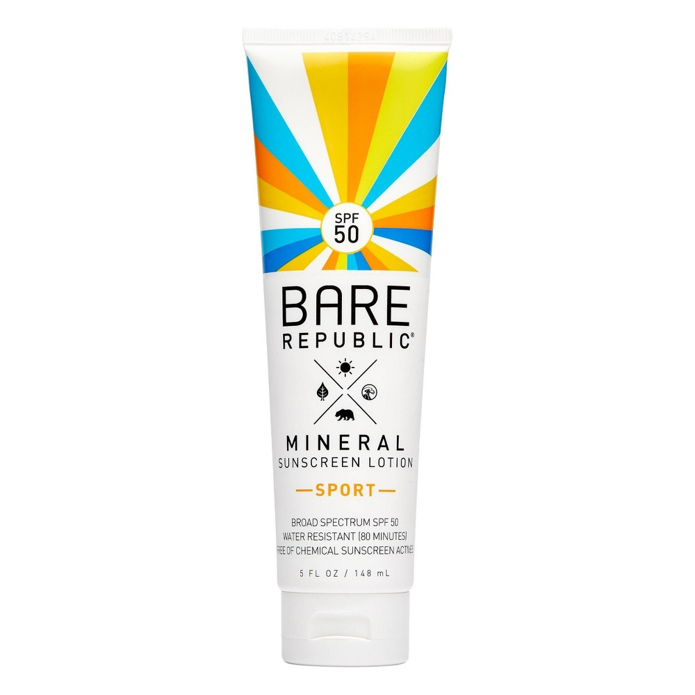Bare Republic Mineral Sport Sunscreen Lotion - SPF 50 - 5.0 fl oz Promos