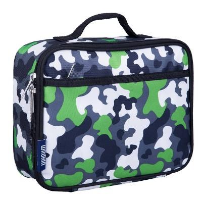 Wildkin Camouflage Lunch Box - Green