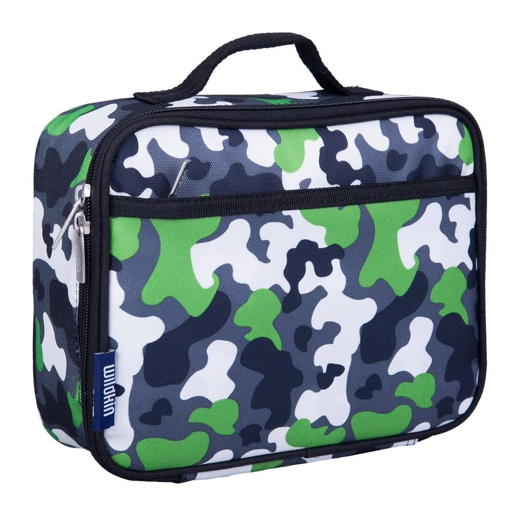 Wildkin Camouflage Lunch Box Green