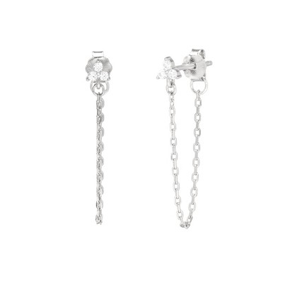 Rowan - Trinity & Chain Hoops