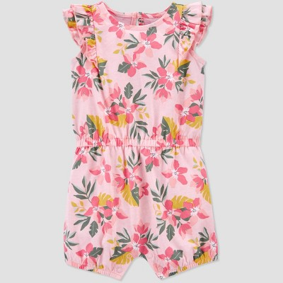 Baby Girls' Floral Tropical Romper - Just One You® made by carter's