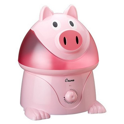 Crane Adorable Pig Ultrasonic Cool Mist Humidifier - 1gal