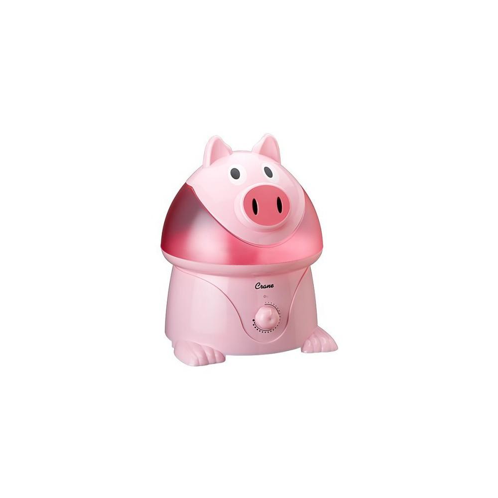 Crane Adorable Pig Ultrasonic Cool Mist Humidifier - 1gal