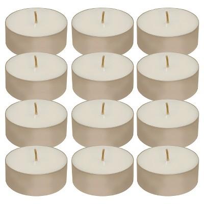 12ct Tea Light Candle White