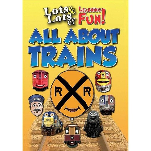Lots & Lots Of Learning Fun: All About Trains (DVD) - image 1 of 1