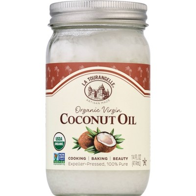 La Tourangelle Organic Virgin Coconut Oil - 14oz