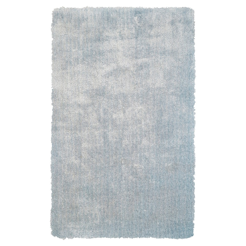 2'X3' Solid Tufted Accent Rugs Sky Blue - Room Envy