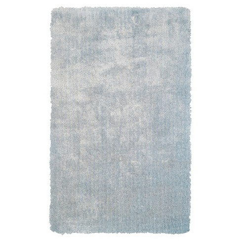 Sky Blue Solid Tufted Area Rug 8 X11 Room Target
