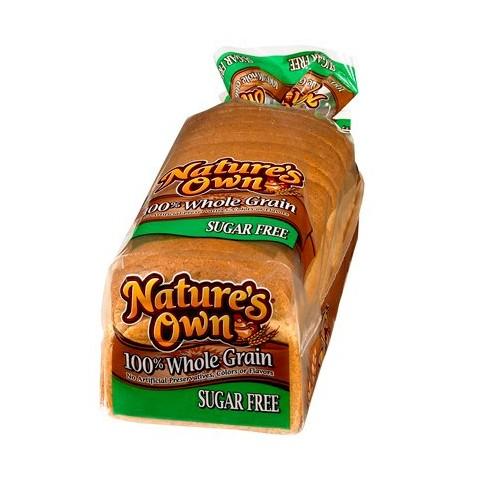 Own Sugar Free 100% Whole Grain Bread