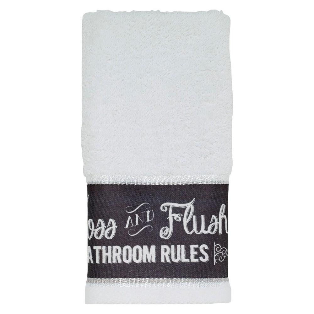 Image of Avanti Chalk It Up Fingertip Towel, Multicolored